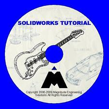 SOLIDWORKS ESSENTIALS VIDEO TUTORIAL 12.5 HRS CAD CAM  CERTIFICATE ENGINEERING