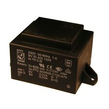 Hahn Print Trafo 230V Printtrafo 6VA 2x 9V Netztrafo Transformator 853662