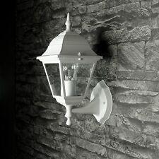 Weiße Außen Wandleuchte Wandlampe Laterne Außenleuchten Außenlampen Leuchten