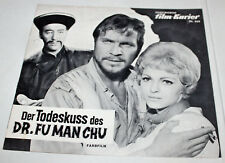 IFK (269) - DER TODESKUSS DES DR. FU MAN CHU - Christopher Lee  - 1968