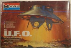 The Invaders U.F.O. Spaceship TV Show Model Kit By Monogram 1:72 Aurora (Sealed)