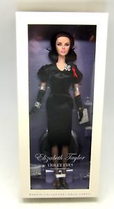Elizabeth Taylor Violet Eyes Silkstone Barbie Doll Gold Label Celebrity Legend