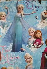 Disney Frozen Papier Cadeau Set Anna Elsa 2 Feuilles de Papier Cadeau & Olaf balises