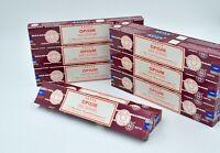Best burner Satya NagChampa Brand Opium dhoop Incense Sticks Yoga Agarbatti 12pk