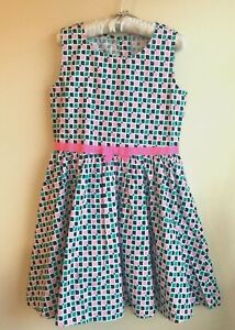 NWT Gymboree Size 10 Sleeves Less Color Blocks Mosaic Jumper dress