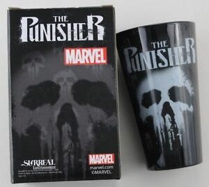 Marvel Comic Nerd Block Exclusive The Punisher Bottom Print Pint Glass Cup New