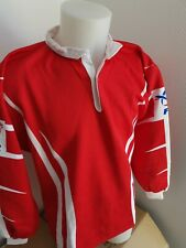 superbe  maillot de rugby FFR  france n°18  taille  L vintage