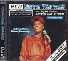 DIONNE WARWICK BIG BAND SINFONICA VERONA Double set collection - 2 CD 2006 USATO
