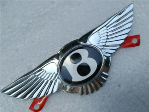 Bentley Continental GT GTC Flying Spur Emblem Front Grille Wing Badge New (1 PC)