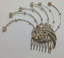 sparkly bridal hair comb d1