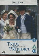 CLASSIC DRAMA COLLECTION - PRIDE and PREJUDICE PART 2 EPS 4-6 BBC NEW SEALED