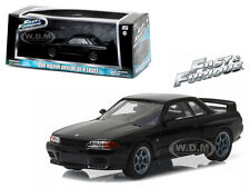 1989 NISSAN SKYLINE GT-R (R32) FAST AND FURIOUS FAST 7 1/43 BY GREENLIGHT 86229