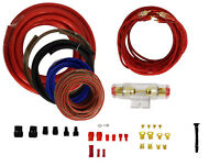 6 Gauge Amplfier Power Kit for Amp Install Wiring Complete RCA Cable RED 1000W