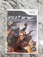 G.I. Joe: The Rise of Cobra (Nintendo Wii) Brand New Factory Sealed KIDS FUN