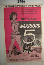 Warriors Five Orig, 1sh Movie Poster