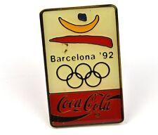 Coca cola Coca cola USA Con risvolto Pin Pulsante Stemma Spilla - Barcelona '92