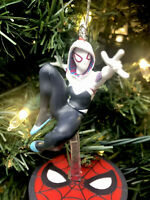 2020 Gwen Stacey Spider-Man Christmas Tree Ornament Spidy Spiderman Multiverse