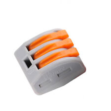 2/3/5 Way Connector Wire Reusable Spring Lever Terminal Block Electric Cable YX