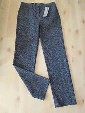 HOCHWERTIGE ZERRES TINA JEANS HOSE Gr. 36 N grau-schwarz Muster *NEU*79,95€