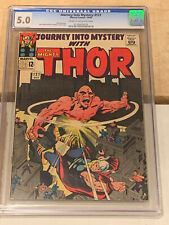 Journey Into Mystery 121 CGC 5.0 Stan Lee Kirby Thor
