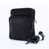 Men's Vintage PU Leather Satchel Crossbody Bag Shoulder Messenger Bag Handbag G