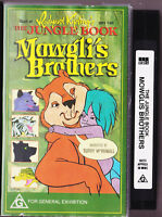 Mowglis Brothers (VHS, 1991) The Jungle Book - Vintage Video Tape