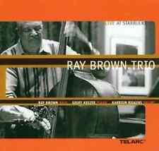 "RAY (Bass) BROWN TRIO ""Live At Starbucks"" (CD 2000) Keezer/Riggins **VERY GOOD**"