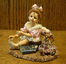 "Boyds Dollstones #3537 Melissa w Katie.The Ballet, Nib From Retail Store 3.25"""