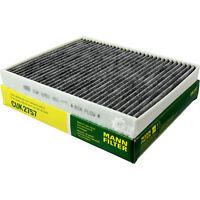 Original MANN-FILTER Aktivkohlefilter Pollenfilter Innenraumfilter CUK 2757