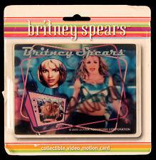Britney Spears Signed 2000 You Drive Me Crazy Motion Card JSA