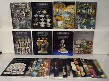 Christies Huge Lot 26 British and Continental Ceramics Auction Catalogs 1057
