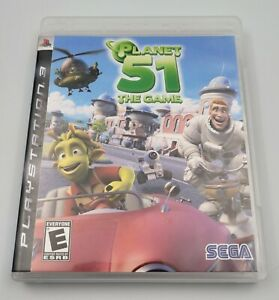Planet 51: The Game (Sony PlayStation 3, 2009) Used Tested Complete CIB