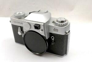 Leica Leicaflex Body (original model) Good Mechanical Working Order, Please Read