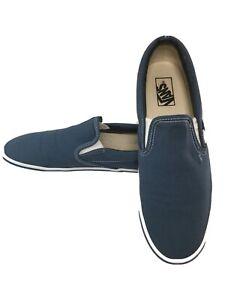 Vans Slip-On Canvas Core Classic Sk8 Men's Size 11.5 Skate Shoes Navy