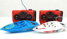 2 PC RC remote control ready to run Mini Speed Boats with playing pool