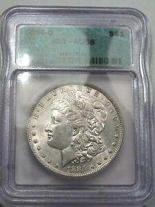Choice AU 1884-o Morgan Dollar ICG AU58.  #10