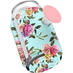 Pop Thirst Can Holder Popsockets koozie flowers roses floral