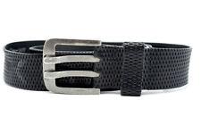 Kaporal Five Mens Leather Belt Black Size 38