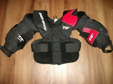 SHER-WOOD T90 HOCKEY GOALIE BODY ARMOR CHEST & ARM PROTECTOR SIZE JUNIOR MEDIUM