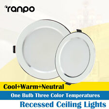 LED Panel Downlights Recessed Ceiling 3W 5W 7W 9W 12W 15W 18W Lamp 220V RC406