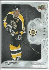 2019-20 RAY BOURQUE - ENGRAINED EBONY NUMBERED