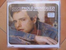 """CD singolo Paolo Meneguzzi """"Guardami negli occhi"""" usato ma in ottime condizioni"""