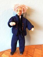 Mann Erna Meyer 50er Biegepuppe Puppenstube Puppenhaus 1:12 dollhouse doll