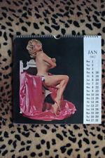 Kamera Calendar 1962 by Harrison Marks