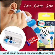 CORDLESS EAR HEALTH WAX VAC CLEANER REMOVER SAFE HYGIENIC VACUUM SUCTION TIPS