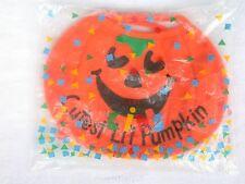 """VTG NIP Avon Halloween Baby Bib """"Cutest Li'l Pumpkin"""" Perfect for 1st Halloween!"""