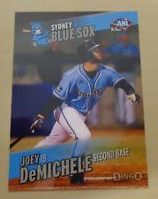 2013/14 JOEY DeMICHELE Australian Baseball League - Sydney Blue Sox