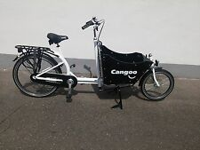 Bakfiets Cargo Family Bike white 7 speed Shimano Nexus 2 seats Bakfeetz NEW