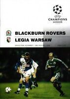 EC I 95/96 Blackburn Rovers - Legia Warschau, 01.11.1995, CHAMPIONS LEAGUE