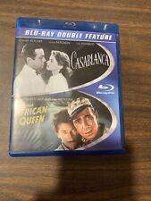 Casablanca (1942)/ The African Queen (1951) (Blu-Ray, 2-Discs) Humphrey Bogart
